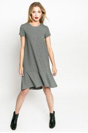 Medicine - Sukienka Nocturne kolor szary RW17-SUD606 - oficjalny sklep MEDICINE online