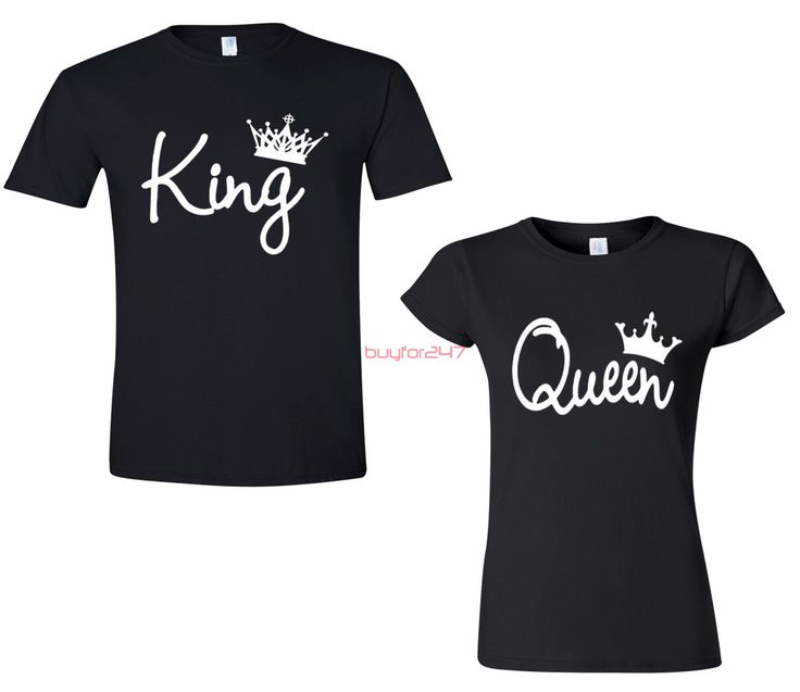 King Queen T Shirts Couple Matching Shirts Christmas Couple Shirt Valentines Day Shirts Mr Mrs Couple Shirts by buyfor247 on Etsy