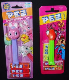 2 PEZ Pink Panther Bonbon Inspector Clouseau Bunny Rabbit
