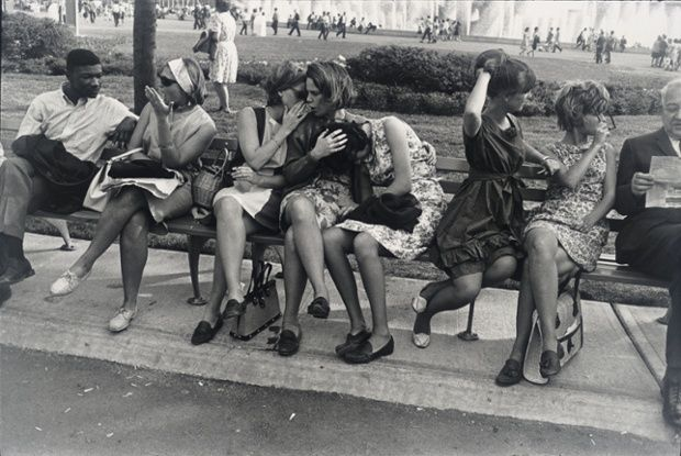 New York World's Fair, 1964. Photograph: The Estate of Garry Winogrand/Courtesy Fraenkel Gallery, San Francisco