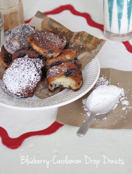 blueberry donuts mmmm