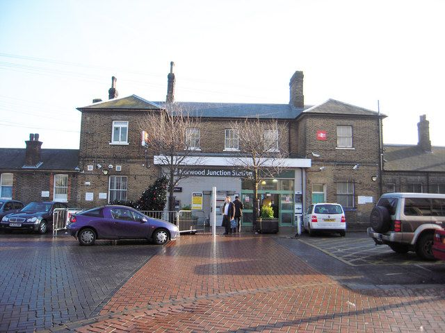 Norwood Junction Railway Station (NWD) in South Norwood, Greater London