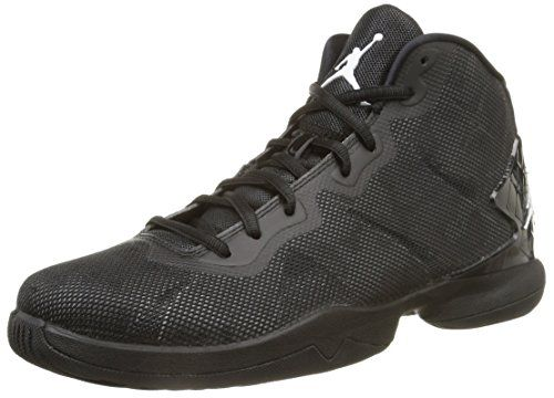 Nike Jordan Men's Jordan Super.Fly 4 Black/White/Drk Grey/Infrrd