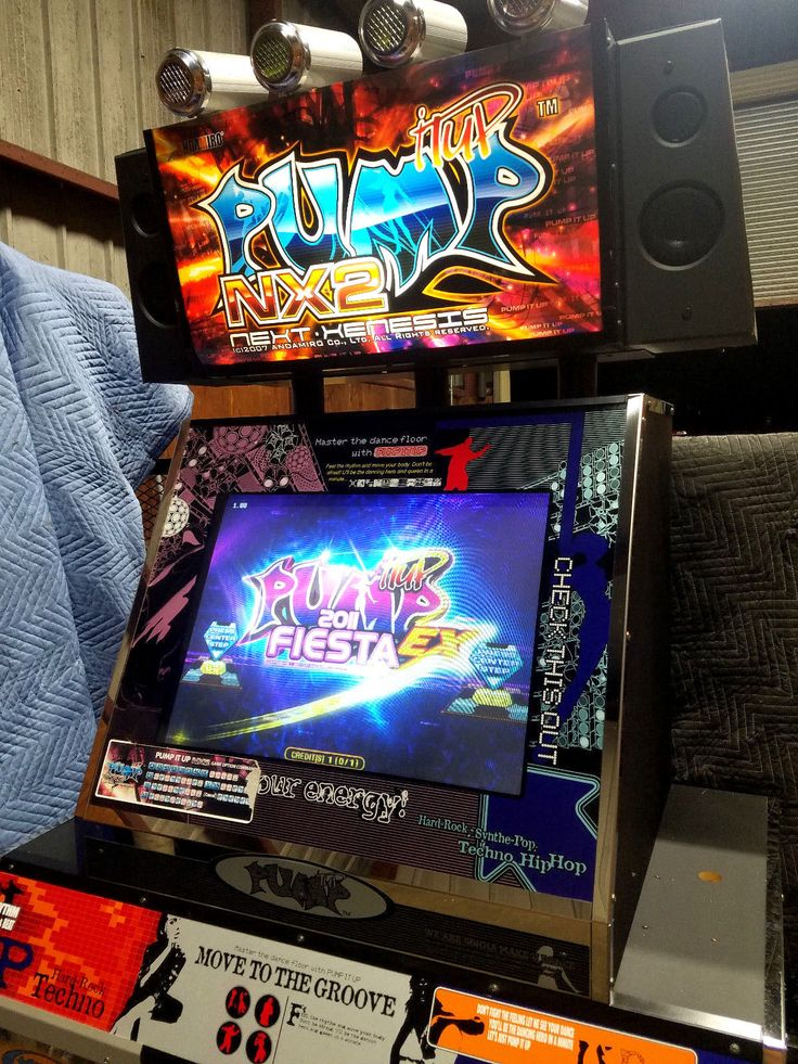 Pump It Up Andamiro Arcade Machine Sxv2 Ddr Dance Dance Revolution