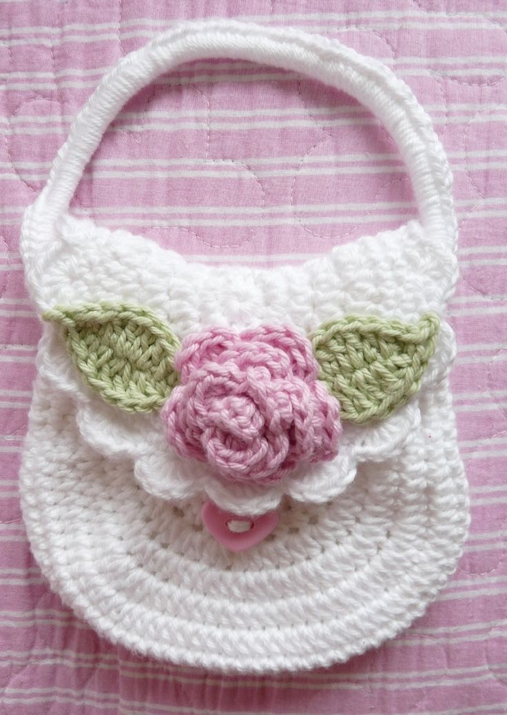 Crocheted Bag Arts And Crafts Pinterest Virkade