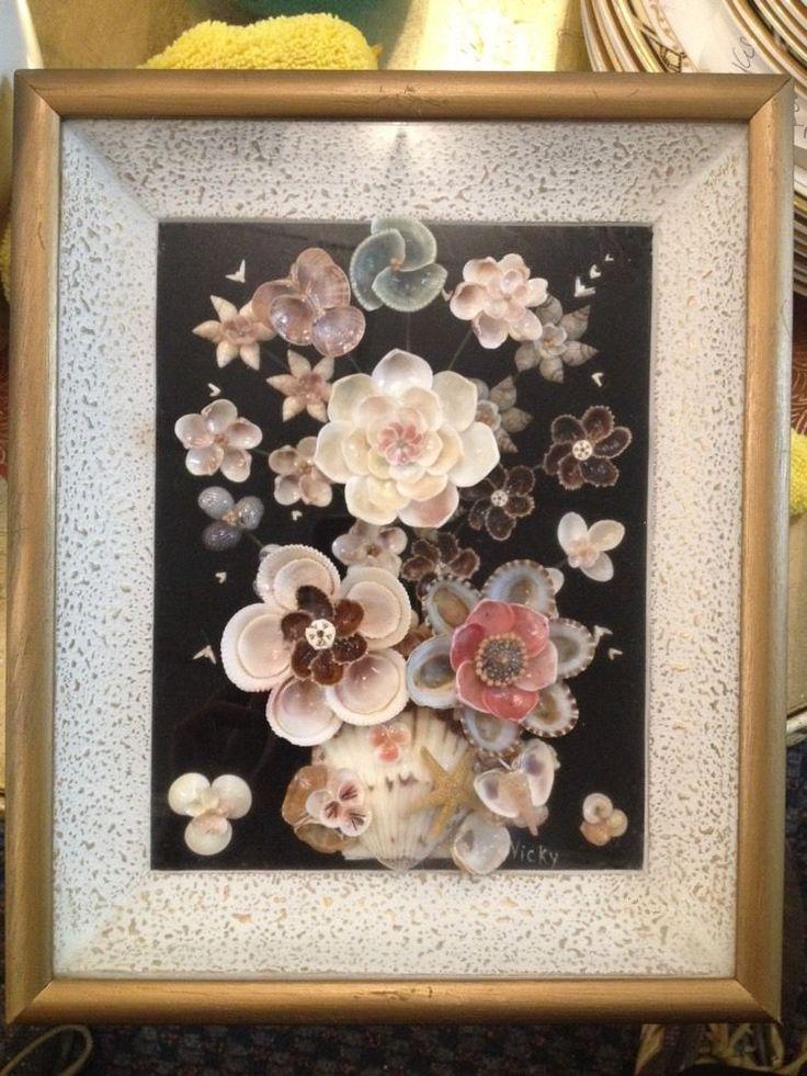 Shabby Chic Nautical Decor: 4899 Best Seashell Craft Idea Images On Pinterest