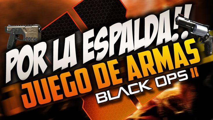 POR LA ESPALDA!! DUELO DE YOUTUBERS - JUEGO DE ARMAS EN CALL OF DUTY BLA...
