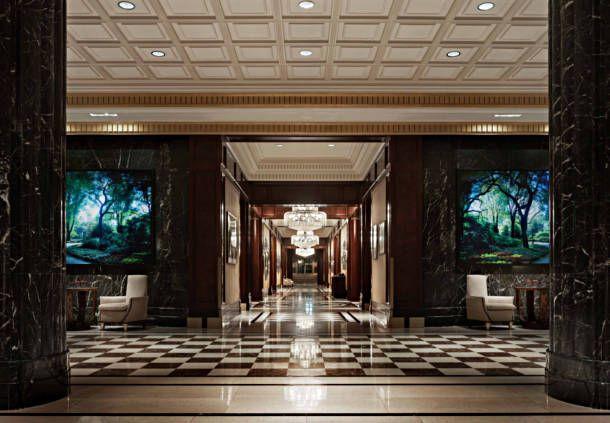 Hoteles en NY: Lobby del JW Marriott Essex House New York