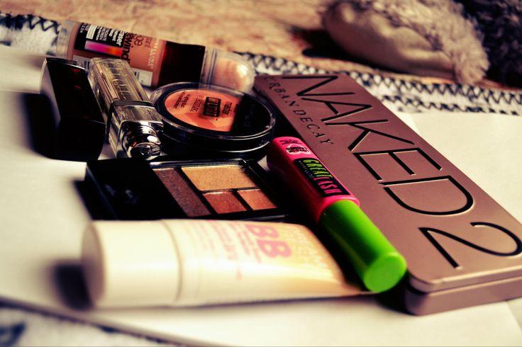 favorite make up! #naked2 #maybelline #dior #urbandecay