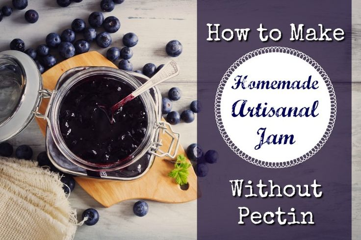 Here's an old-fashioned way to make homemade artisanal jam without pectin.