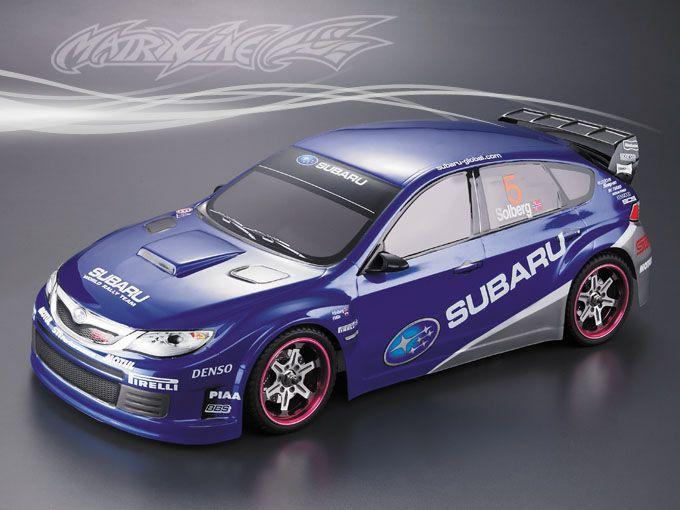 Subaru Impreza WRX 10 kész Lexan karosszéria 190MM