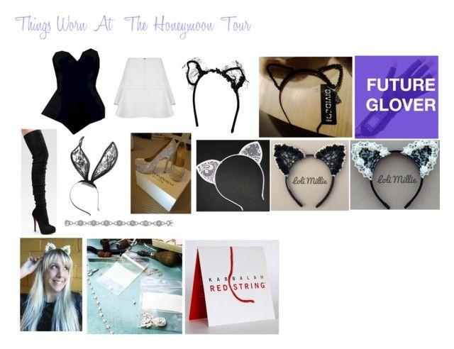 """""""Things worn while preforming at the Honeymoon Tour"""" by steal-arianas-style ❤ liked on Polyvore"""