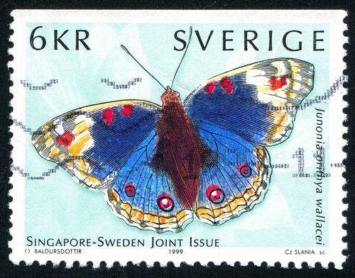 ♥ ◙ Sweden, Postage Stamp. ◙