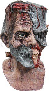 Masque intégral effrayant homme latex