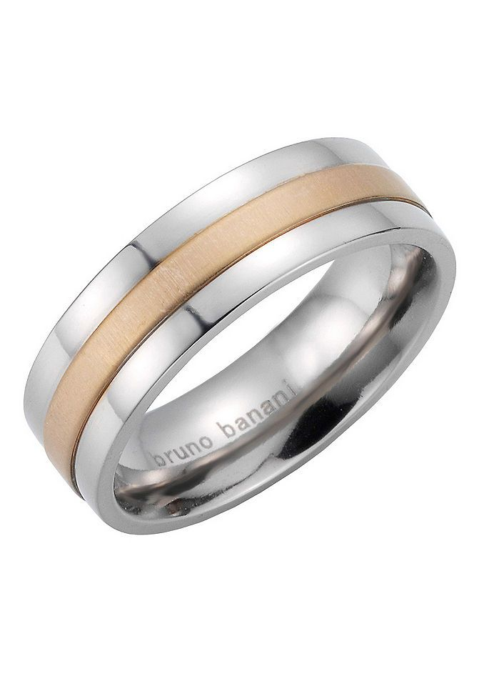 Partnerschmuck: Partnerring, Bruno Banani, »42/83196-0, 44/83197-0« Jetzt bestellen unter: https://mode.ladendirekt.de/damen/schmuck/ringe/partnerringe/?uid=6752b696-8108-5052-b20c-223a742769cf&utm_source=pinterest&utm_medium=pin&utm_campaign=boards #partnerringe #schmuck #ringe