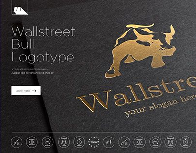 "Check out new work on my @Behance portfolio: ""Wallstreet Bull Business Logotype"" http://be.net/gallery/33149593/Wallstreet-Bull-Business-Logotype"