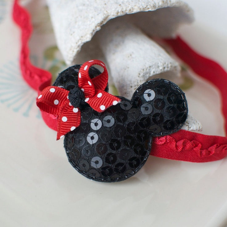 Mouse Ears Headband Perfect for Disney Trips by MyLittlePixies, $7.00