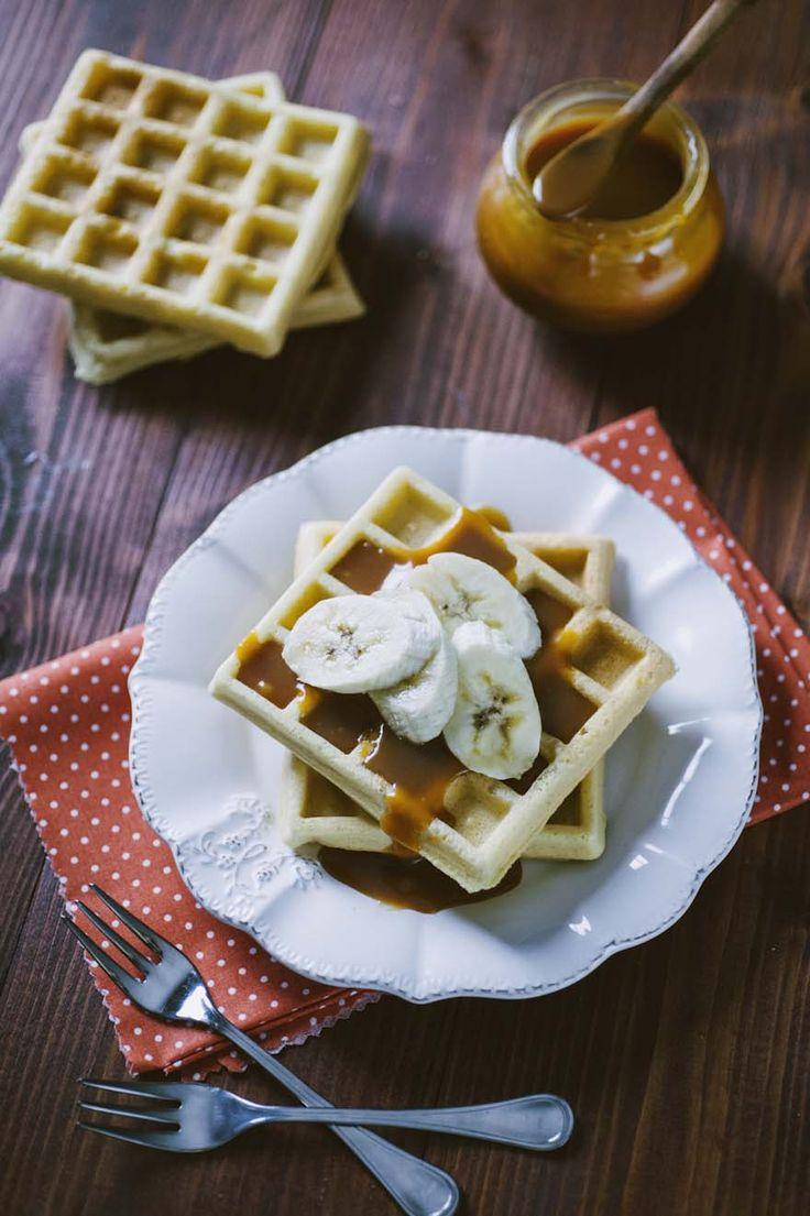 I waffle senza glutine e senza latticini sono una bontà perfetta per i iniziare la giornata o organizzare un ottimo brunch! Provali!
