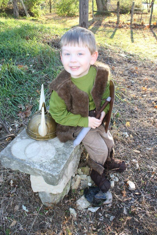 Hiccup costume from How To Train Your Dragon