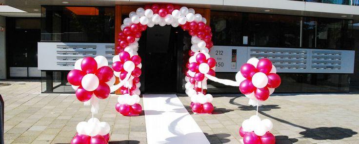 Ballonnen kopen en feestartikelen. Ballonnen en ballonbogen   De Ballonnenkoning