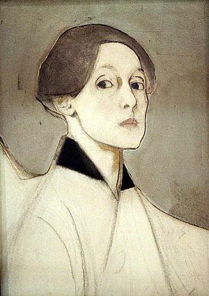 Helene Sjerfbeck - Selfportrait