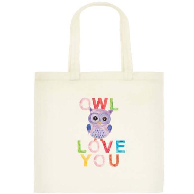 Owl Love You Watercolor Tote Bag by OrangePeelPaperie on Etsy