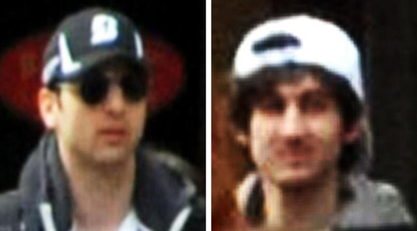 One Boston Marathon suspect dead, another still on run, officials say - U.S. News  7/7 Inquest—Court Sees CCTV Footage of London Bombers http://www.youtube.com/watch?v=jK34NVphgeo  F.B.I. Flyer - ARE YOU A TERRORIST? - The Berean Chronicles http://www.retakingamerica.com/fbi_flyer_01.html     Watchdog: Police have footage of Tube death http://www.infowars.com/articles/London_attack/brazilian_police_have_tube_shooting_footage.htm