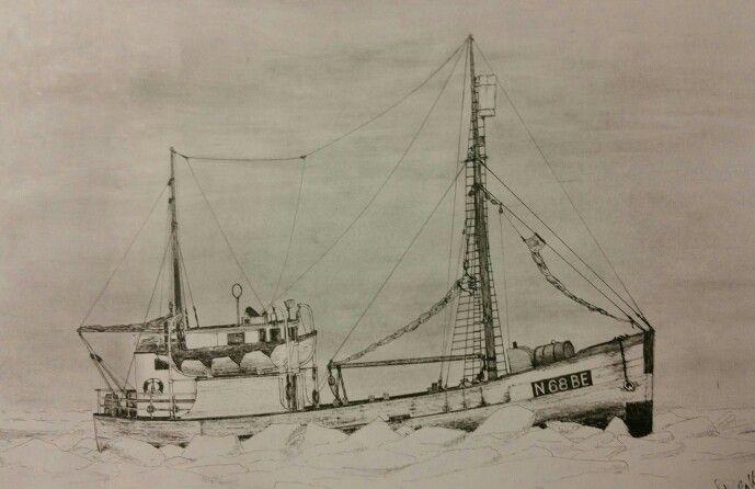 "Old norwegian sealer "" Askeladd 1"""