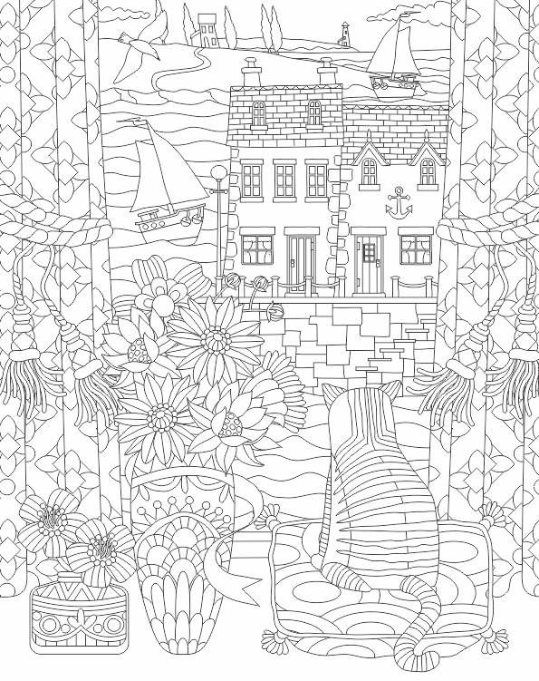 19 best victorian christmas coloring pages images on for Victorian christmas coloring pages