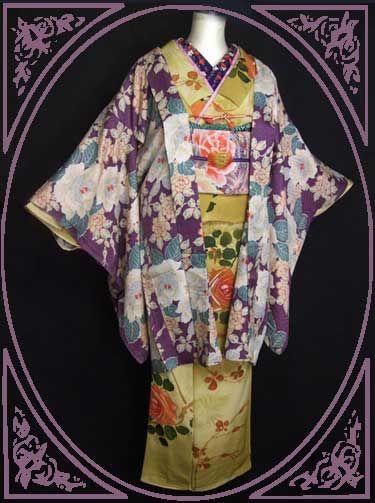 Japanese Antique Kimono アンティーク着物 : 乙女なキモノ