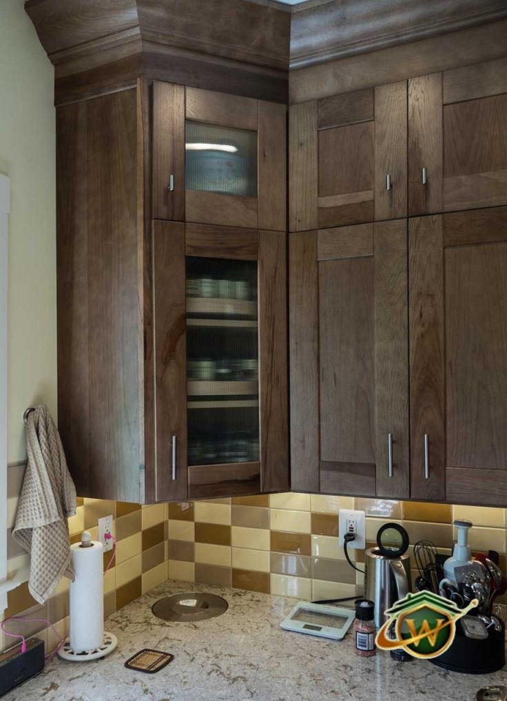 K  Wolf Designer Cabinets Murano Door Style In Maple