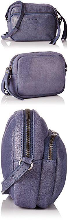 Esprit Bags. Esprit Women's Women's Blue Leather Crossover Bag Blue.  #esprit #bags #espritbags