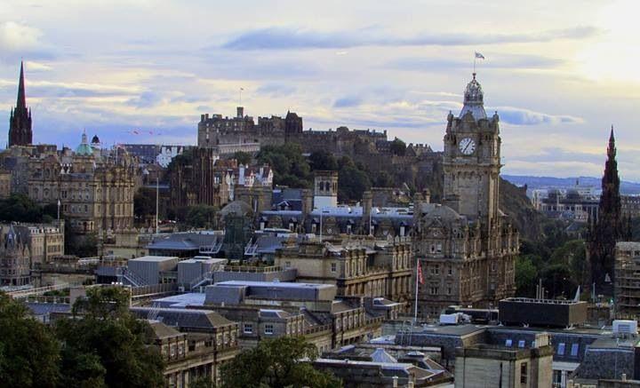 Edimburgo, probablemente la ciudad con más encanto que he visitado.