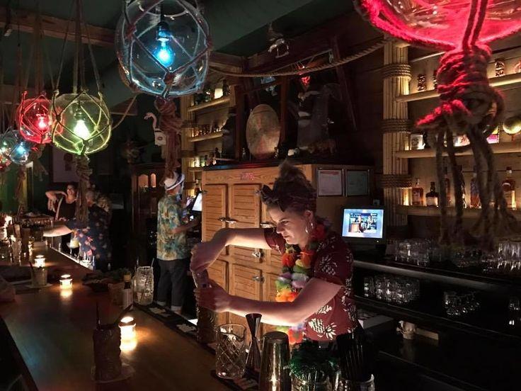 Le Snowbird Tiki bar est ENFIN ouvert
