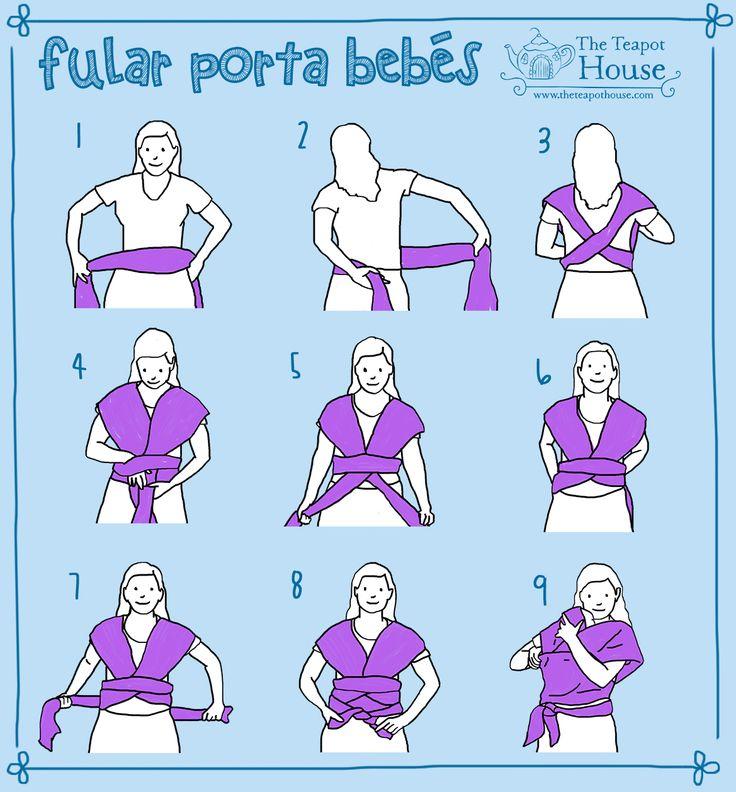 fular rebozo porta bebe | curiocidades | Pinterest