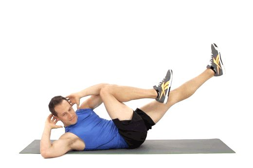 1. Bicycle Crunches!