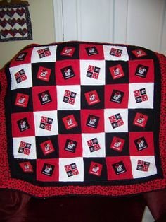 19 best Quilts images on Pinterest | Atlanta falcons, How to make ... : college quilt patterns - Adamdwight.com