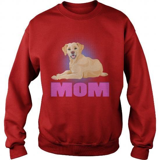 Cute Beige Labrador Mom