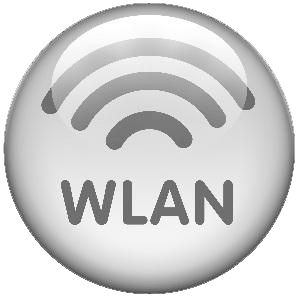A LAN that uses no physical wires