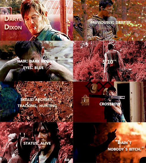 Knowing About Daryl Dixon #TWD
