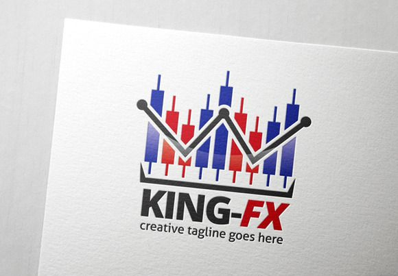 Check out Forex King Logo by Slim Studio on Creative Market