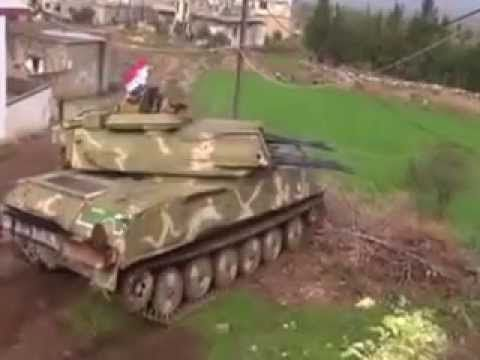 Syrian Army In Heavy Clashes With Syrian Rebels During Defense Of Idlib ...