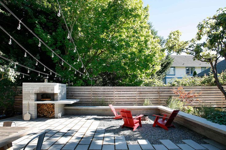 SHED Architecture & Design - Modern Architects Seattle - Wallingford Pizza Oven  /  SHED Architecture & Design  /  Landscape Design