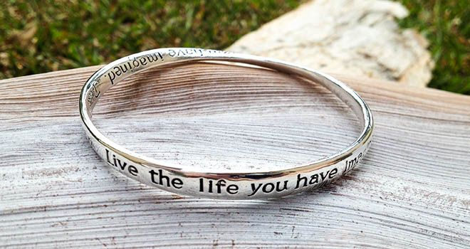 Majique Jewellery - Live The Life. Find it at www.giftedmemoriesjewellery.com.au