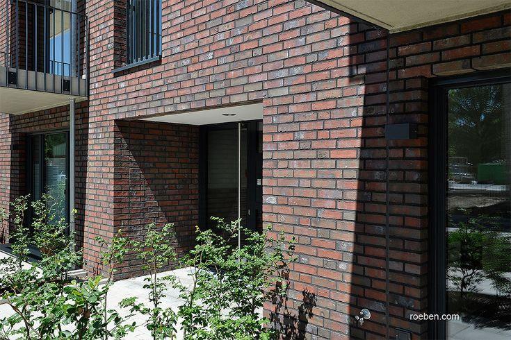 Röben Klinker, Bricks | Handstrichziegel WIESMOOR rotblau-bunt | Wohnungen in Osnabrück