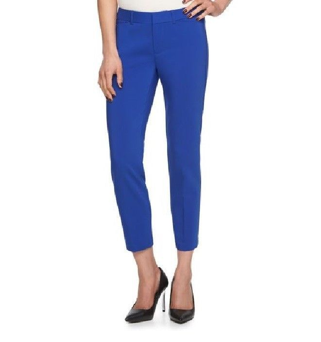 Elle Womens Ankle Skinny Pants Mid Rise Solid Dazzle Blue size 16 NEW 19.99 http://www.ebay.com/itm/Elle-Womens-Ankle-Skinny-Pants-Mid-Rise-Solid-Dazzle-Blue-size-16-NEW-/253172646783?var=&hash=item80959aa03a