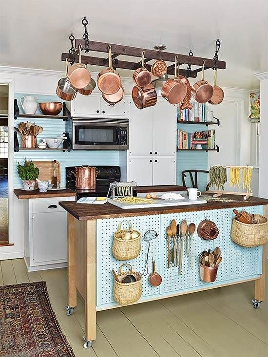 5 smart fresh ways to use pegboards in the kitchen the great kitchen pegboard - Kitchen Pegboard Ideas
