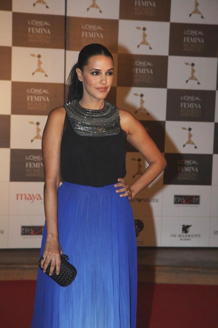 Neha Dhupia at Loreal Femina Women's Awards.