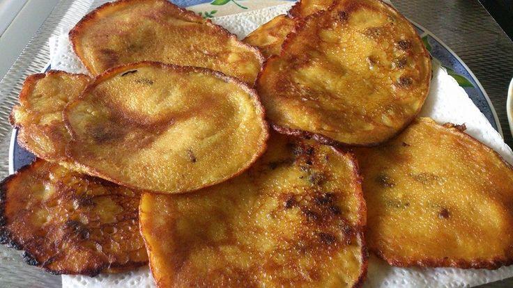 Arepa di Pampuna (Antilliaanse pompoen pannenkoeken)