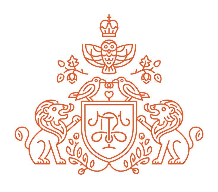 alizborsa:  Traub – Riehle esküvő címer terv: